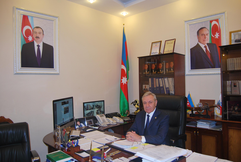 GDU-Rektoru professor Yusif Yusibov