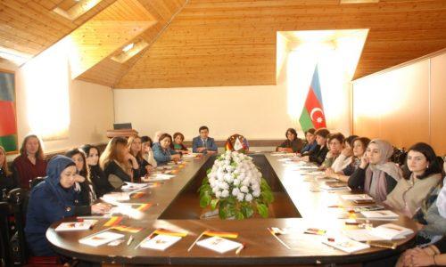 Gəncə GDU Alman Dili Müəllimləri Təlim Seminar (4)